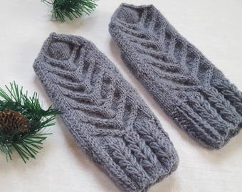 Mittens Hand Knitted Wool Mittens Knitted Knit mittens Mittens Hand wear