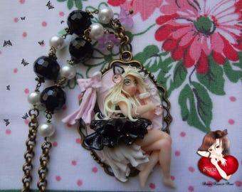 Kawaii Cat Girl necklace