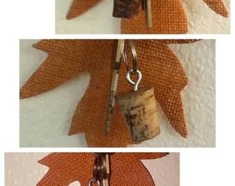Keychain Cork Charm