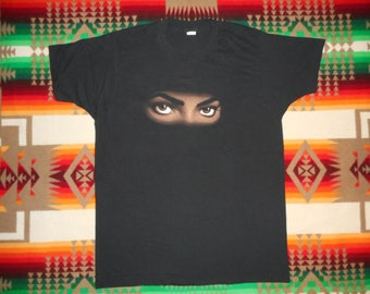 Michael Jackson Dangerous Tour Shirt 1992 Size Large Screen Stars