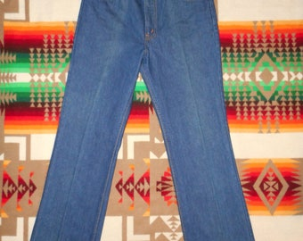Orange Tab 517 Levis Staright Leg Jeans 31 x 30