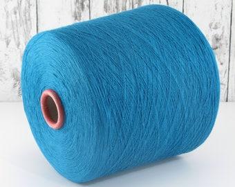 600g cotton yarn on cone, Italy/cotton yarn (Italy) on cone: Y001110