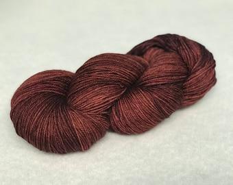OOAK Hand Dyed Yarn - SW Merino Wool/Nylon (80/20) Fingering/Sock Weight