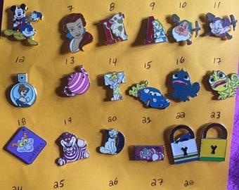 Official Disney trading pins