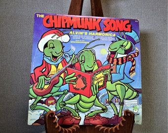The Chipmunk Song Alvin's Harmonica sung by the Grasshoppers Record Album