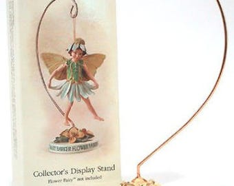 Miniature Flower Fairy Gardening Stand Cicely Mary Barker Retired