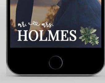 Wedding Snapchat Filter