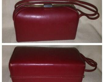 On Sale Adorable Red Vintage Handbag