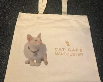 Stanley Tote Shopping Bag Cat Cafe Manchester