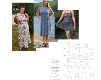 Summer Mixi Maxi Tanktop/Tunic/Dress/Maxidress. Size 32-60