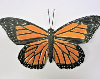 Ceramic Monarch Butterfly