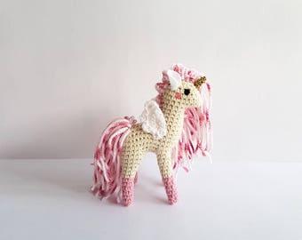 Miniature Animal, Soft Sculpture | #TinyHoof: Tiny Pegasus