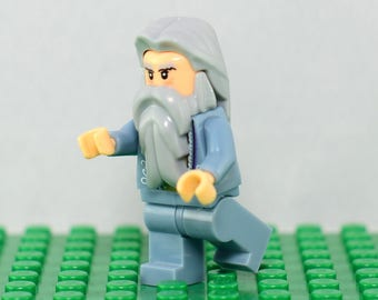 Professor Albus Dumbledore Custom minifigure Lego Compatible Harry Potter Hogwarts Sorcerer's Stone  Order of the Phoenix Chamber of Secrets