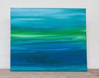 Original Canvas Art: 'Sea Meditation' #1