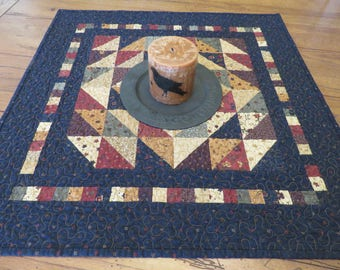 Quilted Table Topper - Multi-Color