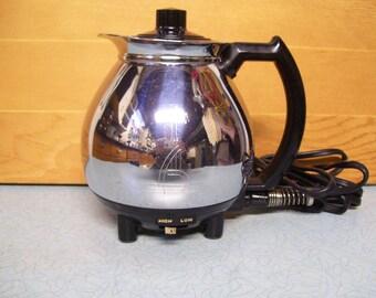 Vintage Sunbeam Coffee Master Bottom only hot pot