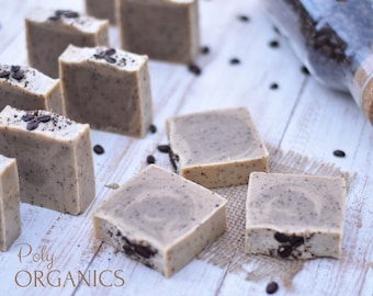 Coffee Scrub Soap (handmade soap, handcrafted soap, natural soap, made in Edmonton Canada)