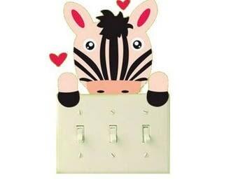 Sticker 1 Zebra switch or outlet