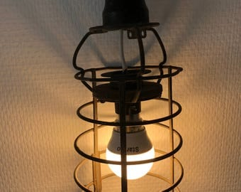 Wandering lamp garage wood vintage 1950