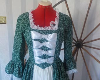 Colonial, Victorian women's dress[Ready to Ship]