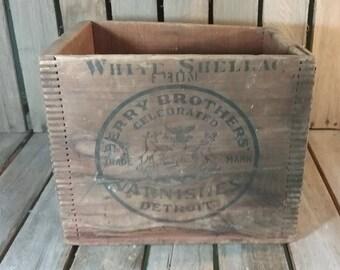 Antique Wooden Crate/Vintage Wooden Crates/Old Crates/Vintage Wooden Box/Wood Crate/Wooden Crates/Small Crate/Antique Crate/Crates/Box