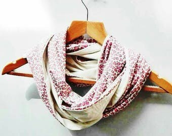 Pink and grey women scarf, scarf, scarf/shawl