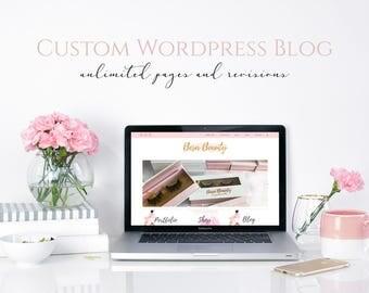 Custom Blog Design, Wordpress Blog Design, Web Design, Blog Design, Online Shop Design, Wordpress Web Design, Website and Blog Design