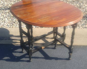 Gate Leg Table Etsy - Antique gateleg tables