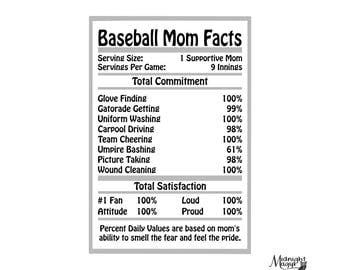 Baseball MOM Facts