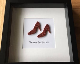 Wizard Of Oz Theres No Place Like Home Scrabble Tile Fine