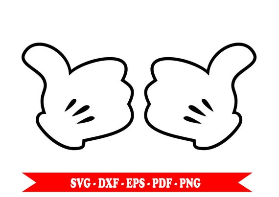 Mickey Mouse Hands Png Www Pixshark Com Images