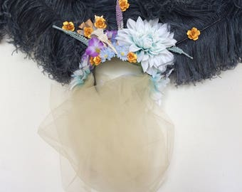 Veiled Fantasy Headdress