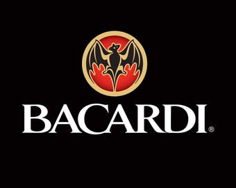 SUMMER SALE: Bacardi Flag and Banner 3' x 5'
