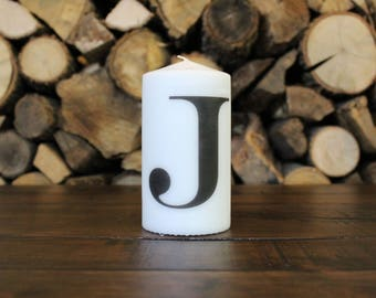 Single letter Candle