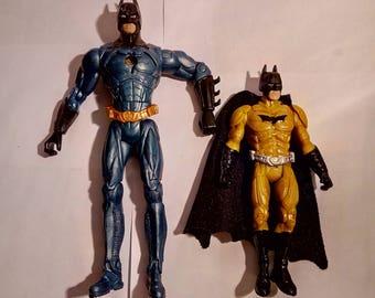 Vintage 2 D.C Comics Batman Figures