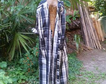 Robe Kimono silk taffeta