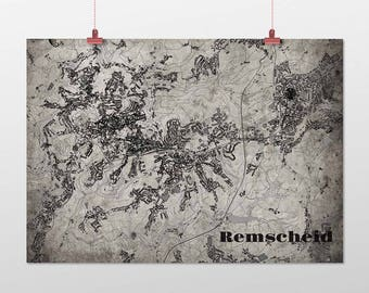 Remscheid - A4 / A3 - print - OldSchool