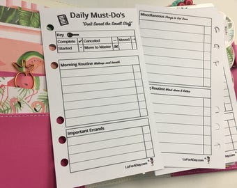 To Do List, Printable To Do List, Planner Inserts, Planner Pages, Planner Printable, To Do, Planner To Do List, Planner Printables