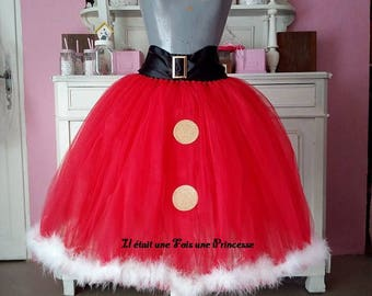 Woman Christmas Tutu skirt