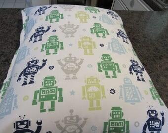 ROBOT  Pillow Sham,  Standard Size