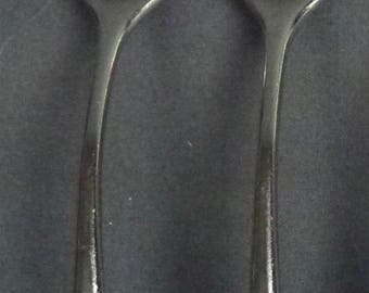 Dansk Stainless Torun Two Oval Soup Spoons