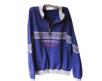 Expressions Vintage Pullover