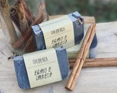 Natural soap, charcoal, e...