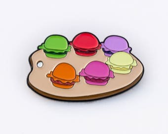 Pretty Patties pin - Spongebob pin soft enamel