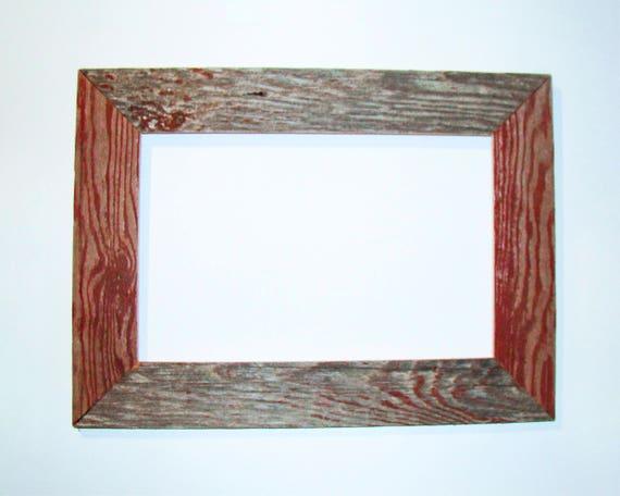 custom barn wood frame 30 x 20 x 4 old. Black Bedroom Furniture Sets. Home Design Ideas