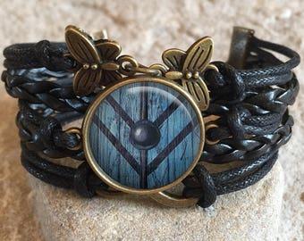 Shield Maiden Bracelet, Ragnar, Lagertha, shield maiden, viking, viking jewelry, Gift for Her, gift for girlfriend, gift for friend