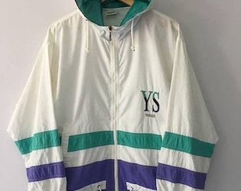 SALE 25% Vintage 90s Yamaha Jacket Hoodie YS Size L