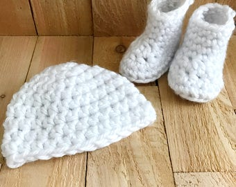 Baby Booties - Crochet Baby Booties, Baby Shoes, Crochet Booties, Crochet Baby Shoes, Baby Shower Gift, Baby Girl Shoes, Baby Boy Shoes