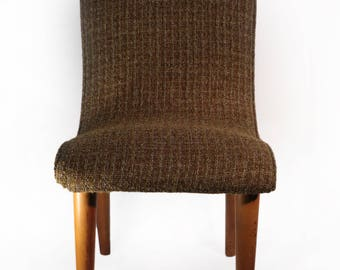 mid century upholstered chair