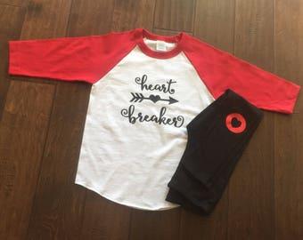 Valentine's Day Heart Breaker Top